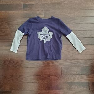 ✅ 5/$25! Boys NHL t-shirt size 24 m